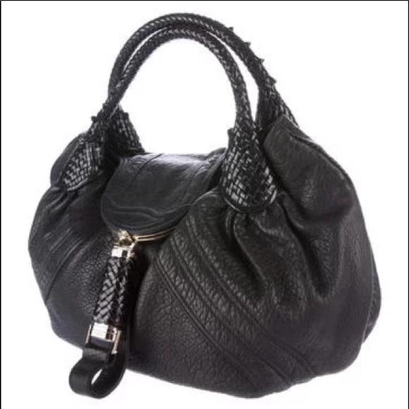 Authentic large Fendi Spy Bag
